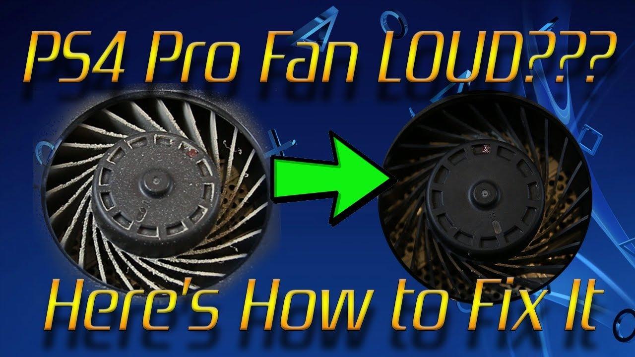 Reduce The Fan Noise ps4